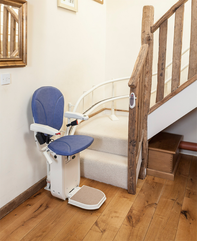 Platinum Curved Approved Stair Lift-Used