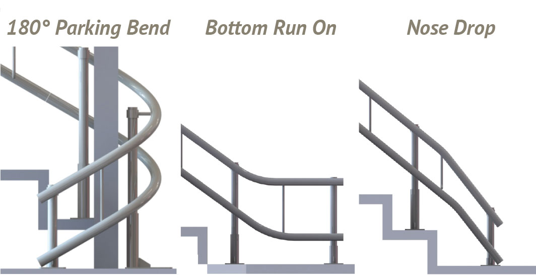 curved stair lift custom rail options